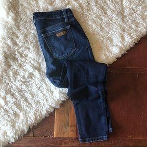 Joe's Jeans | Dark High Rise Skinny Ankle Jeans